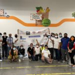 DALLAS Chapter that has volunteered and helped pack 15,300 meals at North Texas Food Bank